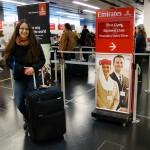 Am Flughafen in Wien ...