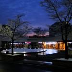 Gonzaga Plaza (einige Lokale direkt gegenüber meines Studentenheimes).