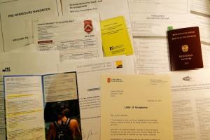 Das ist nur ein Teil (!) all meiner Unterlagen, die sich in den vergangenen Monaten angesammelt haben.