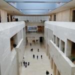 Die Haupthalle des Museums.