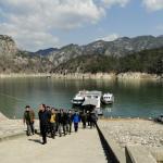 Der Chungjuho-See, der größte See Koreas.