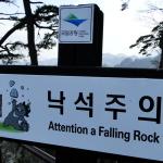 Koreanische Schilder sind immer wieder kurios.^^