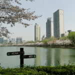 Seokchon ist (wieder einmal) ein künstlich angelegter See.