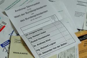 Erstmals wähle ich heuer per Wahlkarte aus dem Ausland.