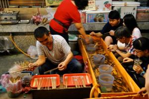 Shilin - einer der beliebten night markets.