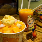 Mango shaved ice cream - nom!