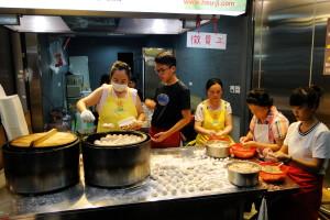 Einmal geht's noch: dumplings!