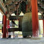 Viele Besucher haben sich ans Glockenläuten gewagt.