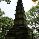 In jedem Tempel gibt es eine große Pagode.