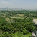 Blick nach Nordkorea.