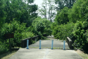 """Die """"Bridge of no Return"""" diente als Austauschort für Gefangene."""