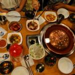 Essen in Korea = viiiiiele Teller.