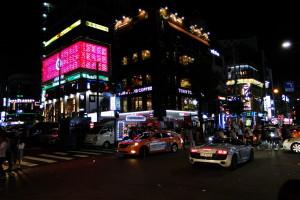 Samstags ist in Hongdae immer viel los.