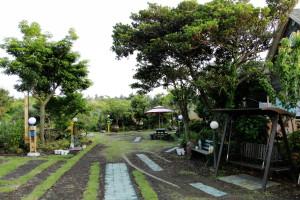 Der Garten unserer Unterkunft. :)