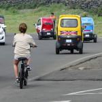 Viele mieten sich auf Udo einen scooter.