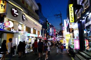 Hongdae.