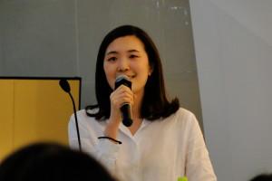 Sophia Park vom OIA hat uns schon oft aus der Patsche geholfen.