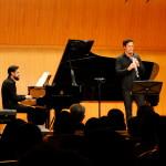 Am Klavier war José Gallardo zu hören.