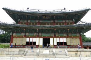 Die Haupthalle des Palastes.